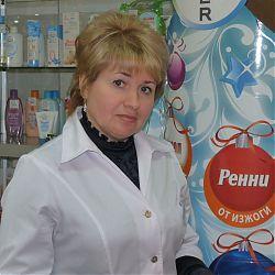 Заведующая аптекой Татьяна Калещак