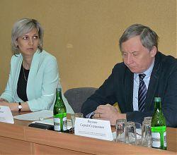 Елена Смирнова и Сергей Якушин