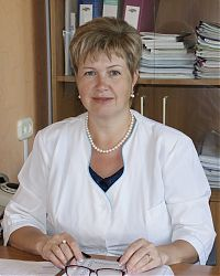 Заместитель главного врача поликлиники по медицинской части Н. А. Куприна